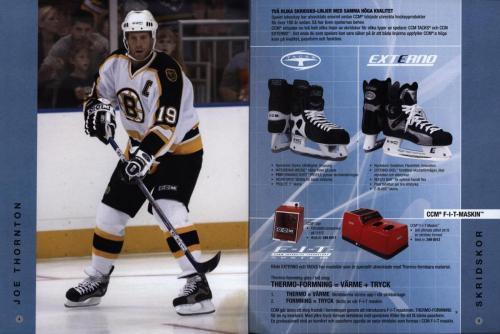 Jofa ccm hockeyutrustning 2003 Blad03