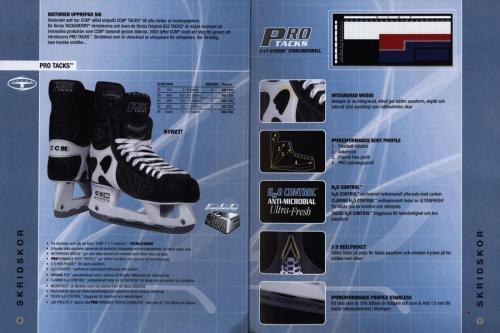 Jofa ccm hockeyutrustning 2003 Blad04