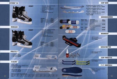 Jofa ccm hockeyutrustning 2003 Blad09