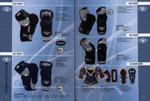 Jofa ccm hockeyutrustning 2003 Blad17