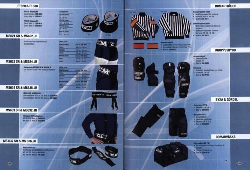 Jofa ccm hockeyutrustning 2003 Blad20