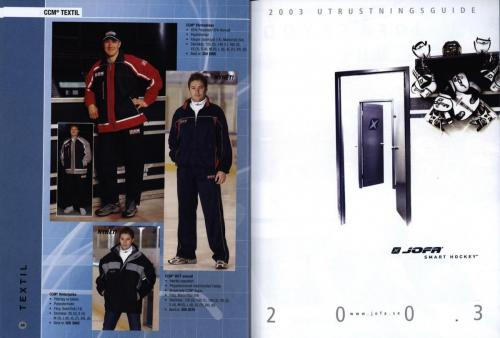 Jofa ccm hockeyutrustning 2003 Blad25