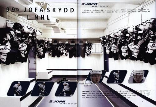Jofa ccm hockeyutrustning 2003 Blad26