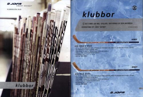 Jofa ccm hockeyutrustning 2003 Blad27