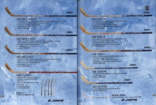 Jofa ccm hockeyutrustning 2003 Blad28