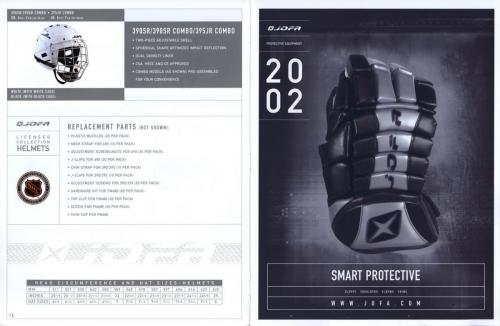 Jofa equipment guide 2002 Blad09