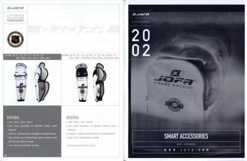 Jofa equipment guide 2002 Blad15