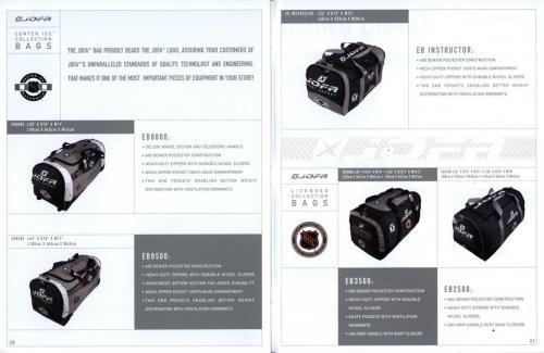Jofa equipment guide 2002 Blad16