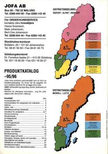 Jofa produktkatalog 95-96 Blad13