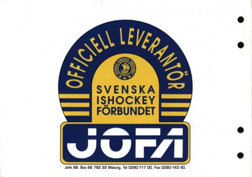 Jofa safety first 09