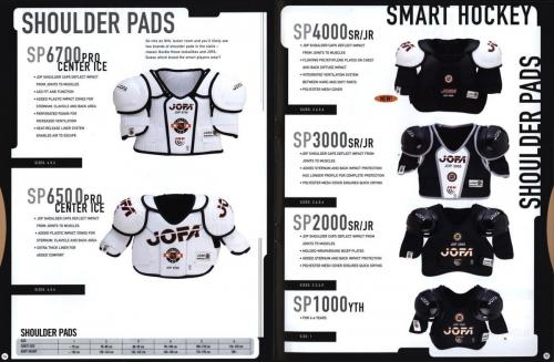 Jofa smart hockey equipment 2000 Blad08