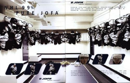 Jofa smart hockey equipment guide 2003 Blad02