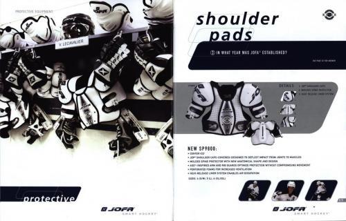 Jofa smart hockey equipment guide 2003 Blad06