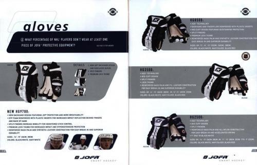 Jofa smart hockey equipment guide 2003 Blad11