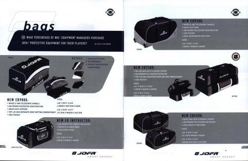 Jofa smart hockey equipment guide 2003 Blad15