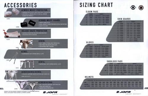 Jofa smart hockey equipment guide 2003 Blad17