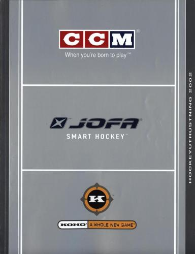 Jofa smart hockey equipment guide 2003 Blad19
