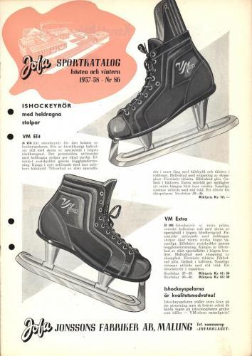 Jofa sportkatalog 1957-58 Blad01