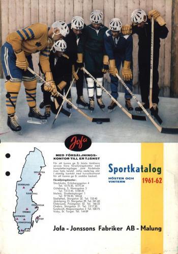 Jofa sportkatalog 1961-62 Blad01
