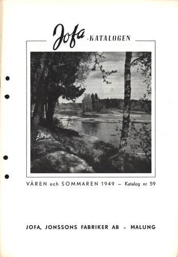 Jofa vår och sommar 1949 blad01