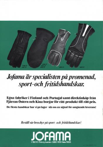 Jofama Promenadhandskar 05