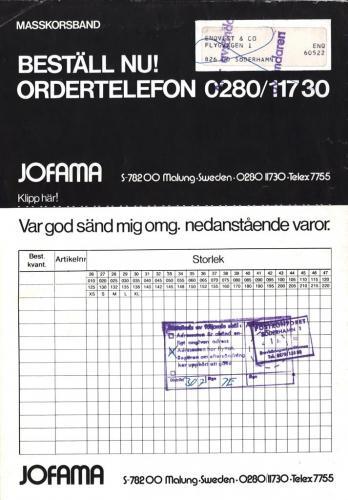 Jofama Vinteraktuellt 05