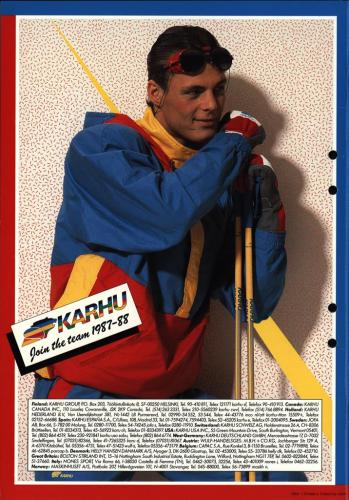 Karhu join the team 1987-88 Blad15