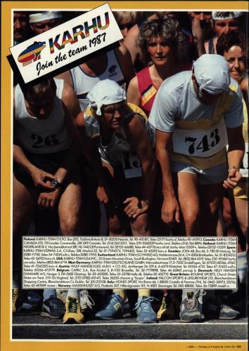 Karhu join the team 1987 Blad11