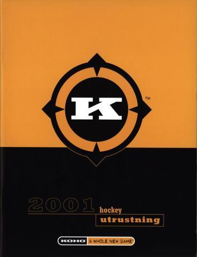 Koho hockeyutrustning 2001 Blad01