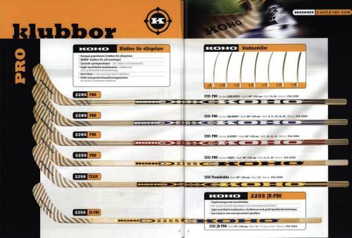 Koho hockeyutrustning 2001 Blad06