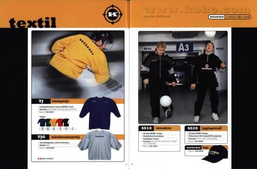 Koho hockeyutrustning 2001 Blad09