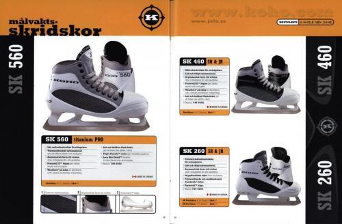 Koho hockeyutrustning 2001 Blad16
