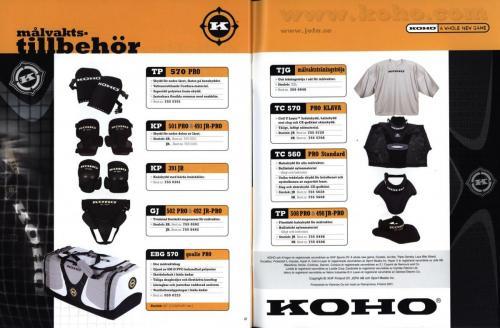 Koho hockeyutrustning 2001 Blad26