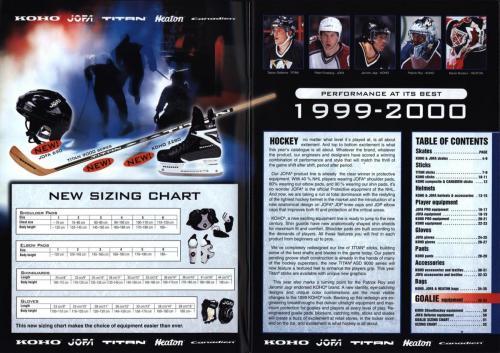 Koho jofa titan heaton canadien Hockey 1999 Blad02