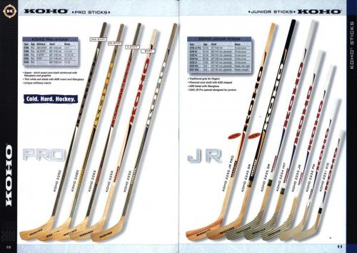 Koho jofa titan heaton canadien Hockey 1999 Blad06