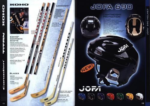 Koho jofa titan heaton canadien Hockey 1999 Blad07