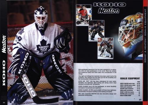 Koho jofa titan heaton canadien Hockey 1999 Blad19