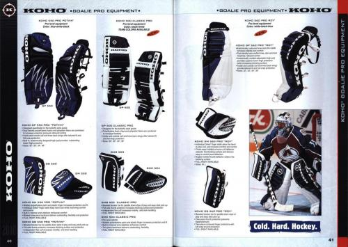 Koho jofa titan heaton canadien Hockey 1999 Blad21