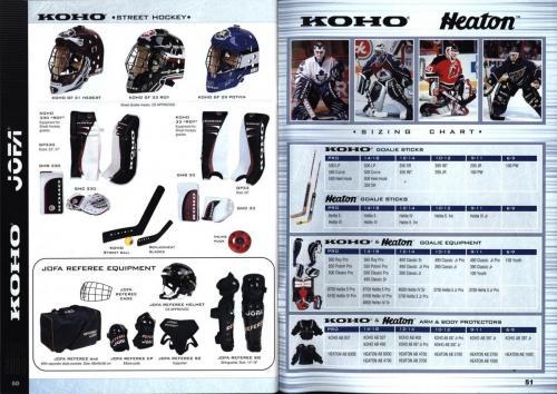 Koho jofa titan heaton canadien Hockey 1999 Blad26