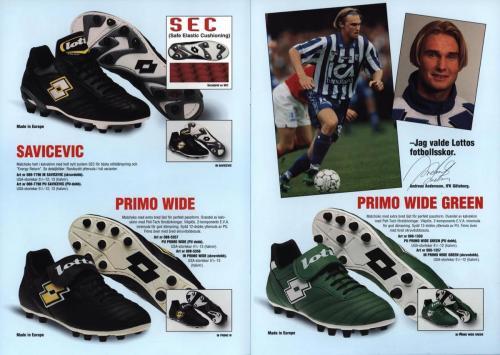 Lotto fotbollsskor 1997 Blad03