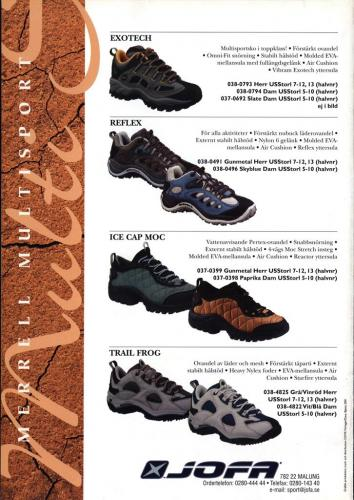 Merrell performance footwear host 2001 Blad05