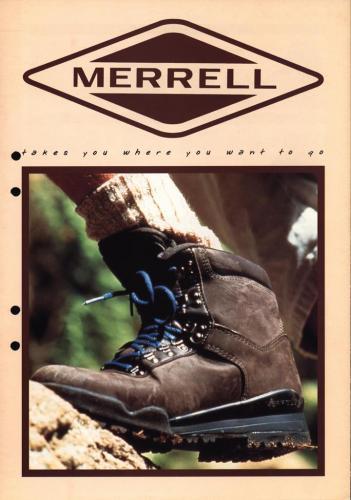 Merrell skor 01