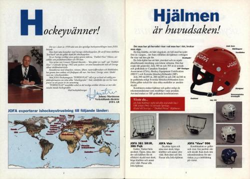 Powerplay Jofa hockeymagasin Nr1 1993 Blad02