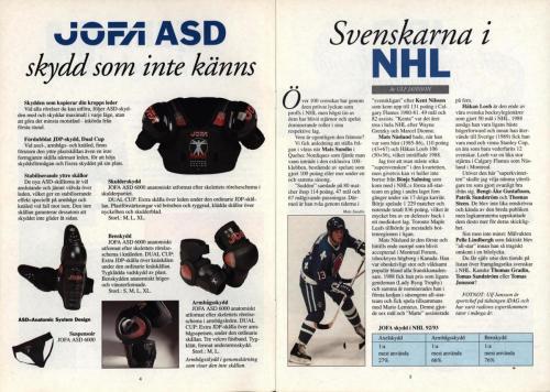 Powerplay Jofa hockeymagasin Nr1 1993 Blad03