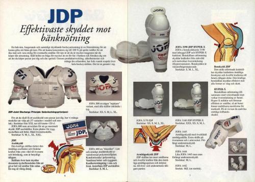 Powerplay Jofa hockeymagasin Nr1 1993 Blad04