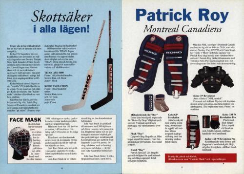 Powerplay Jofa hockeymagasin Nr1 1993 Blad06