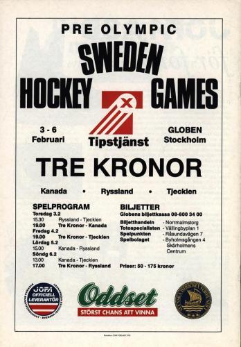 Powerplay Jofa hockeymagasin Nr1 1993 Blad13