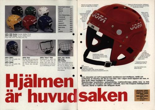 Powerplay Jofa hockeymagasin Nr2 1995 Blad02