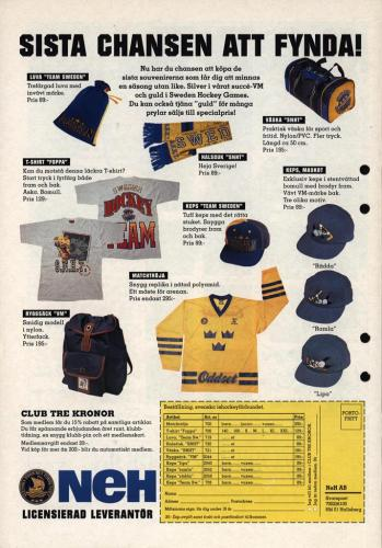 Powerplay Jofa hockeymagasin Nr2 1995 Blad17