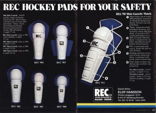 REC Hockeypads 1978-79 Blad03